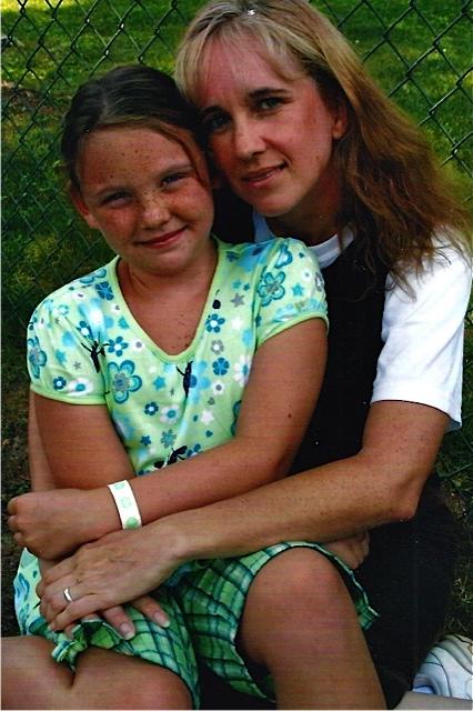 Elizabeth with daughter, Hannah