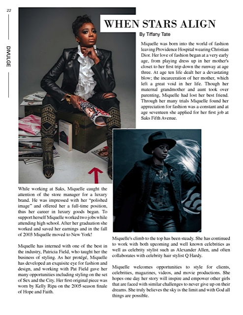 February 2015 issue of Linger Magazine.