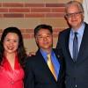 Congressman Lieu with wife, Betty and Tim Robbins