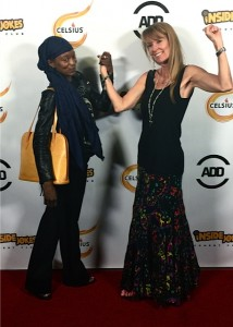 Miquelle and Amy at Russell Simmons Def Jam Comedy Event