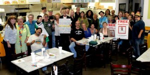 Southern California supporters gather to help raise defense funds for Paul Free, serving Life for Pot.