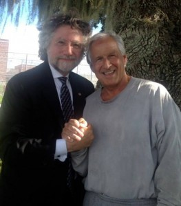 George and his attorney Theodore Simon
