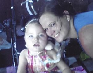 Linda's daughter, Josyln and her granddaughter Gabrielah