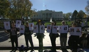 CAN-DO vigil in front of the White House