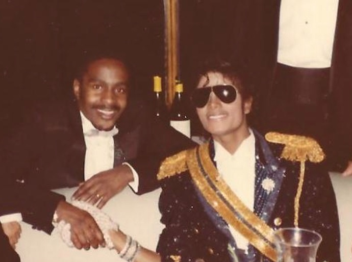 William with Michael Jackson