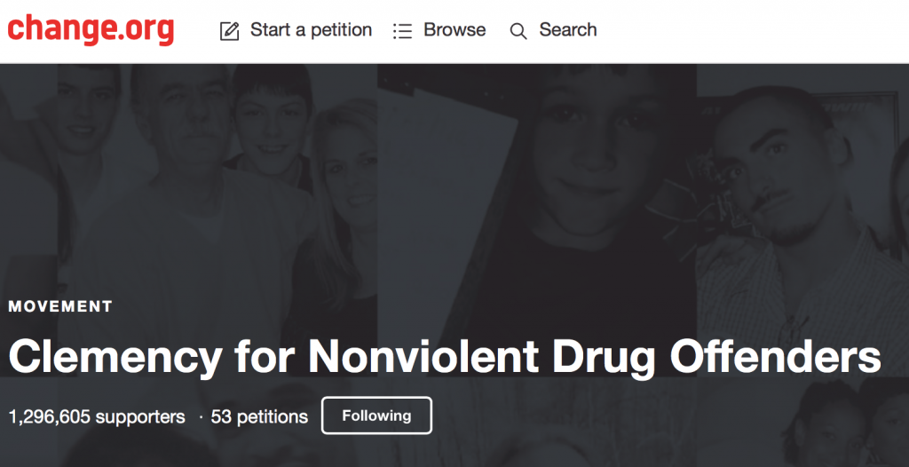 To start a petition or view additional petitions go here