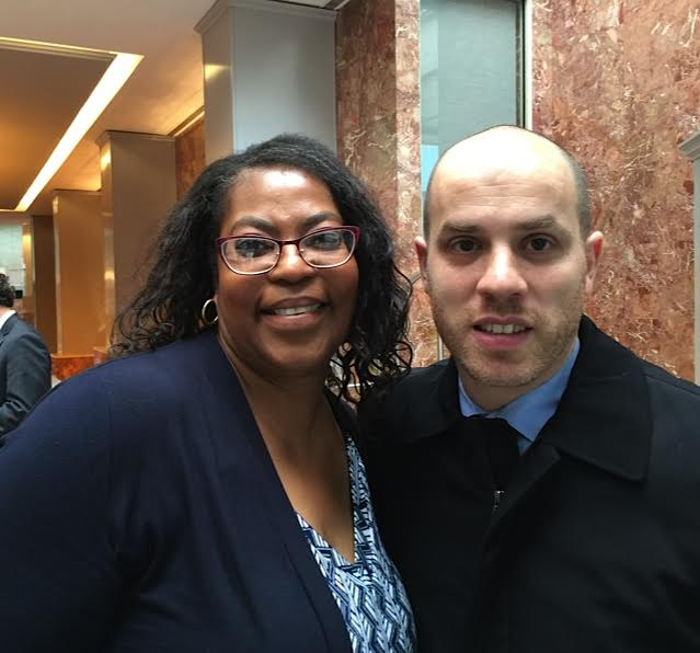 Clemency Recipient Ramona Brant and Michael Skolnik