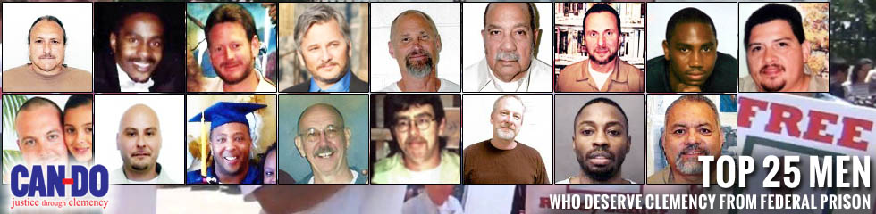 Top 25 Men Deserving Clemency