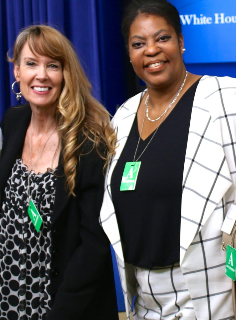 Amy and Ramona at White House Briefing on Life After Clemency