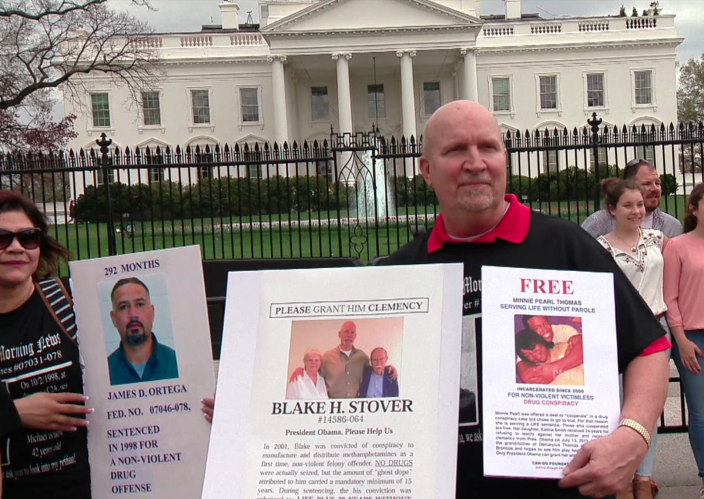 Doug Stover at CAN-DO vigil in front of White House on March 26, 2016