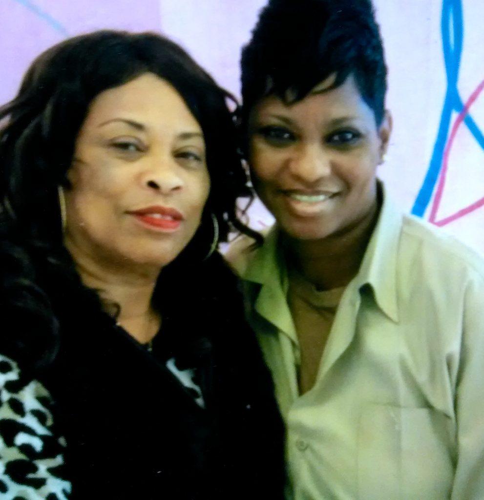 Cheryl with her mom, Anita