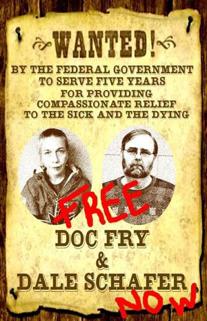 Doc Fry & Dale Shafer Pardon Poster