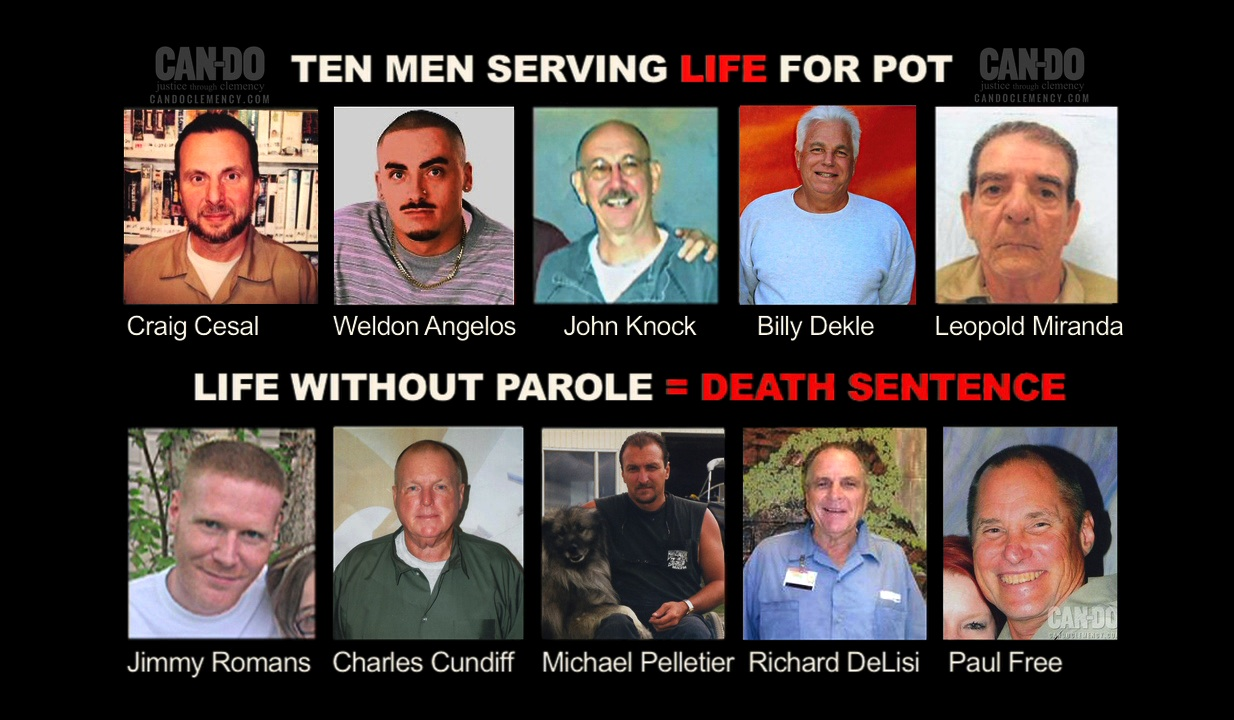Top 10 Life for Pot Prisoners