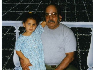 Antonio Bascaro with granddaughter Zoe when she was 2 years old. Zoe is now in her 20s.