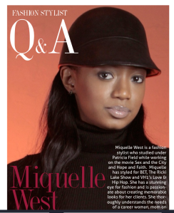 Michelle's daughter, Miquelle who is a fashion consultant.