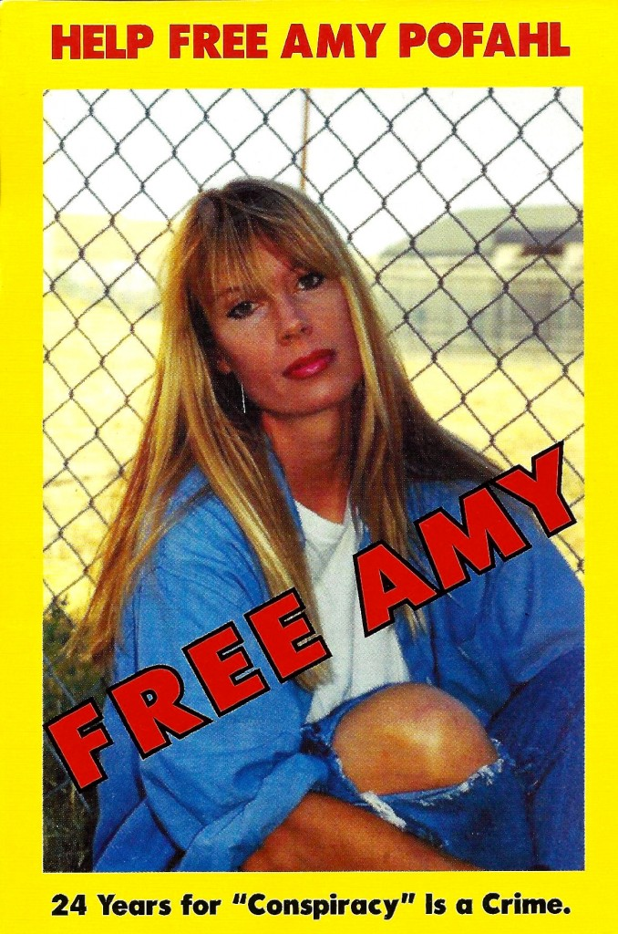Postcard used to help garner support for Amy's clemency