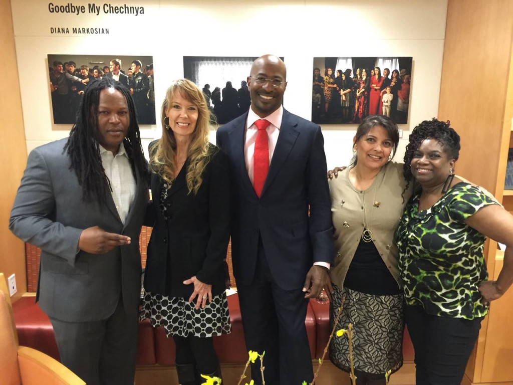 Shaka Shakur, Amy Povah, Van Jones, Angie Jenkins and Nkechi Taifa