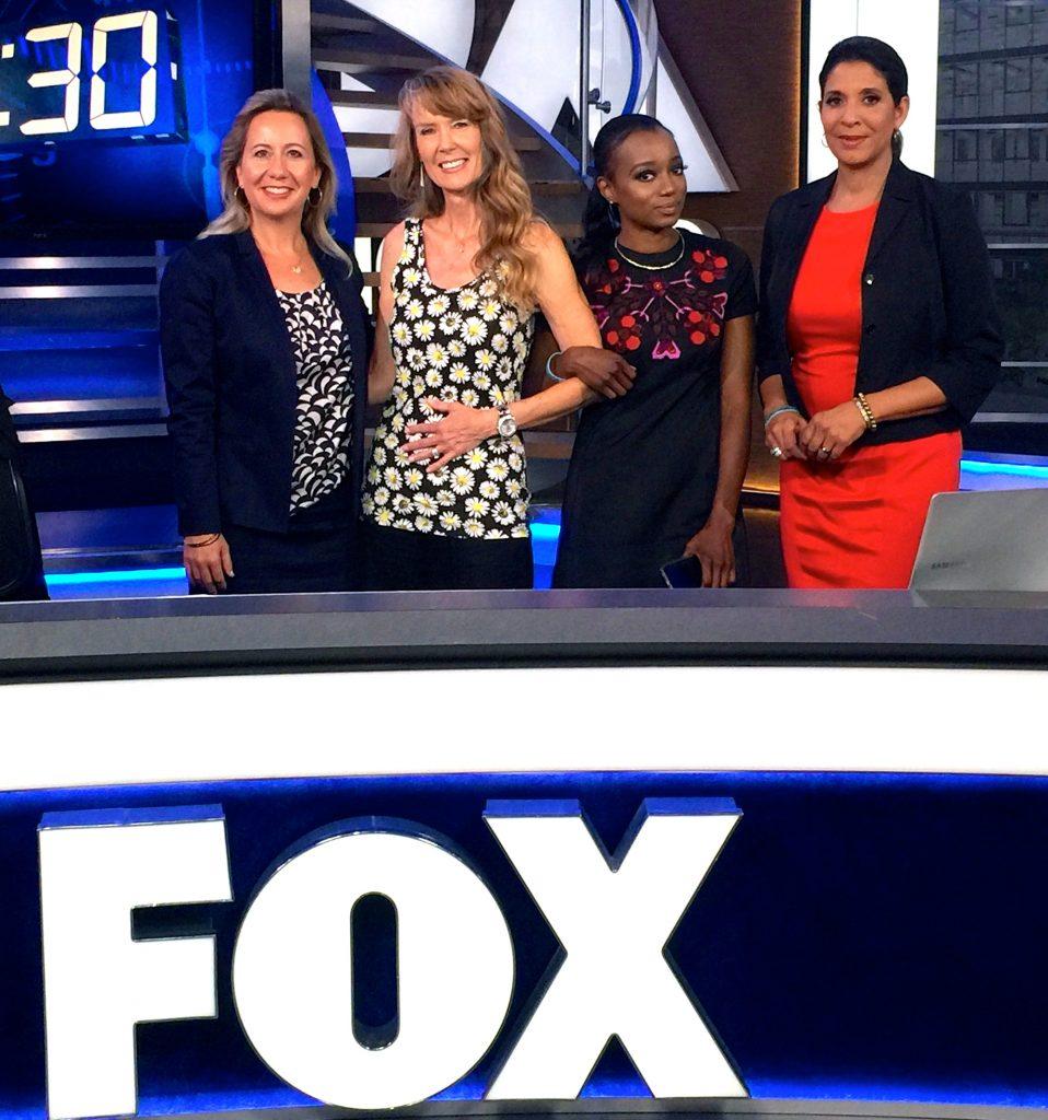 Katherine Bonaguidi, Miquelle West, Amy Povah and Christine Divine