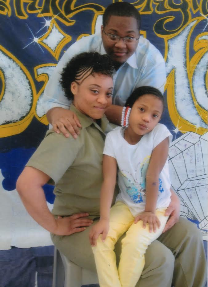 LaShonda with her family