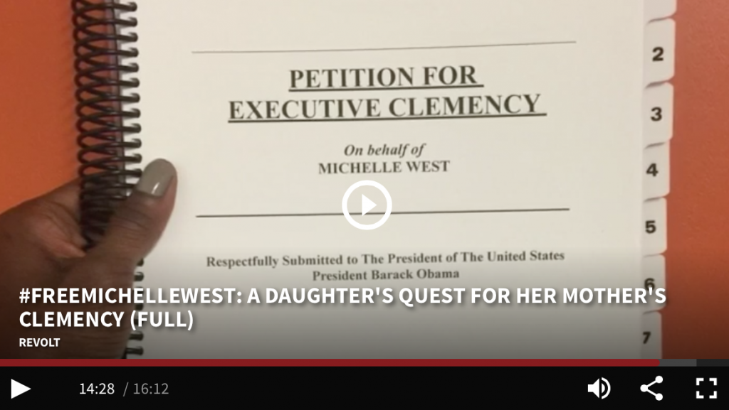 Copy of Michelle West's clemency petition